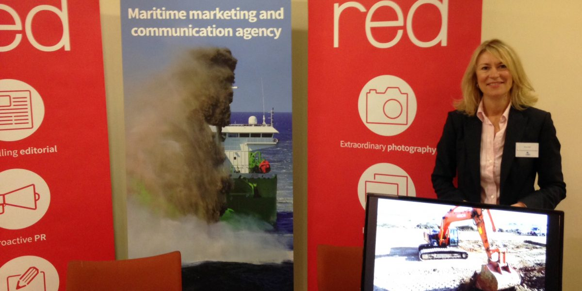 Kerrie at the Offshore Wind Connections conference