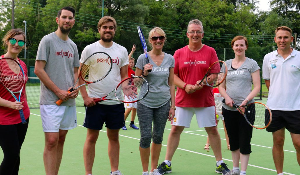 RED team Tennis day