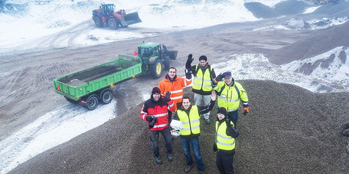 Group shot with HCME in Helsinki