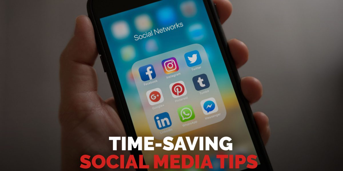 Time saving social media