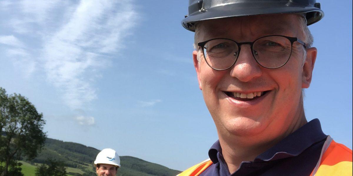 Paul and Glenn visit Hitachi ZX-7 in Cumbria