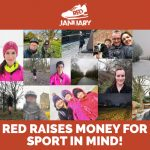 Photos of RED team taking part in RED January